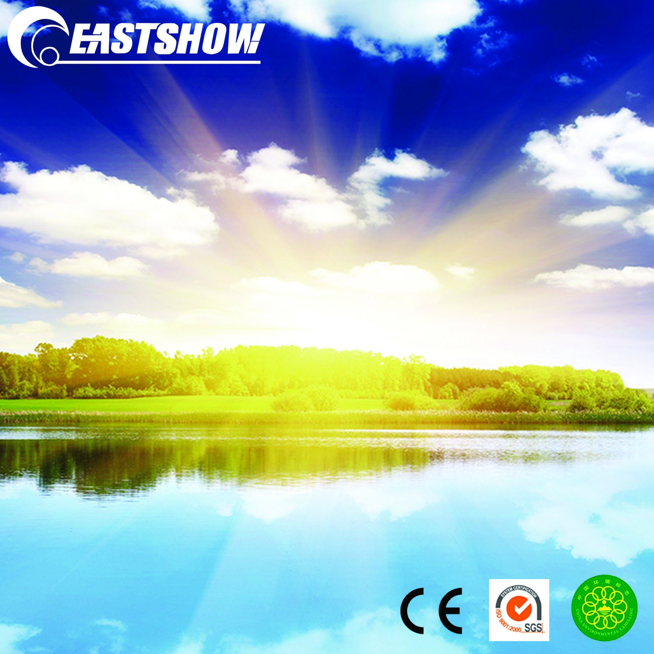 China Lake View 3d Hd Mural Wallpaper Photos Pictures