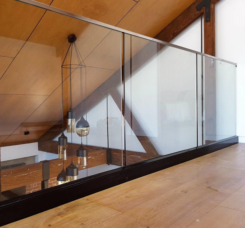 China Frameless Glass Balustrade Balcony Railing Handrail ...