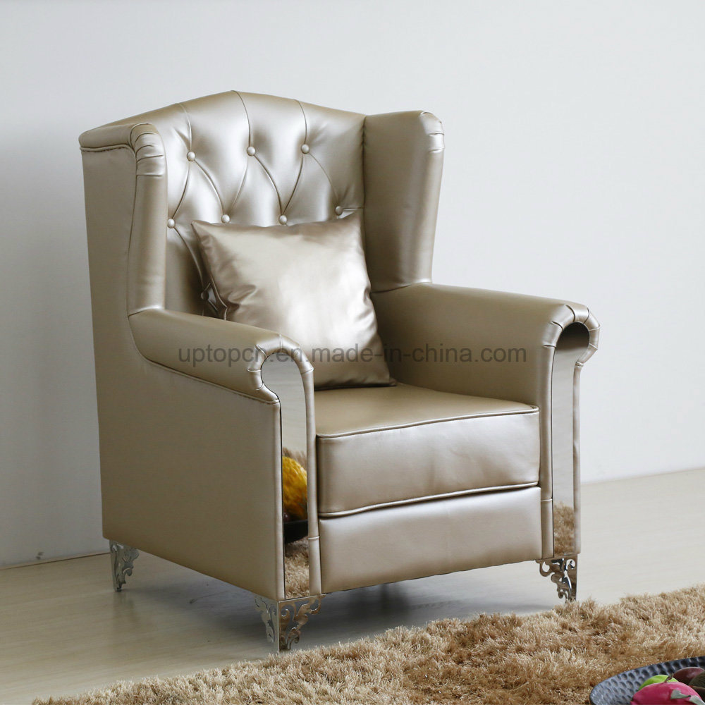 China Bargin Price Durable High Back Leather Armchair Sp Hc588