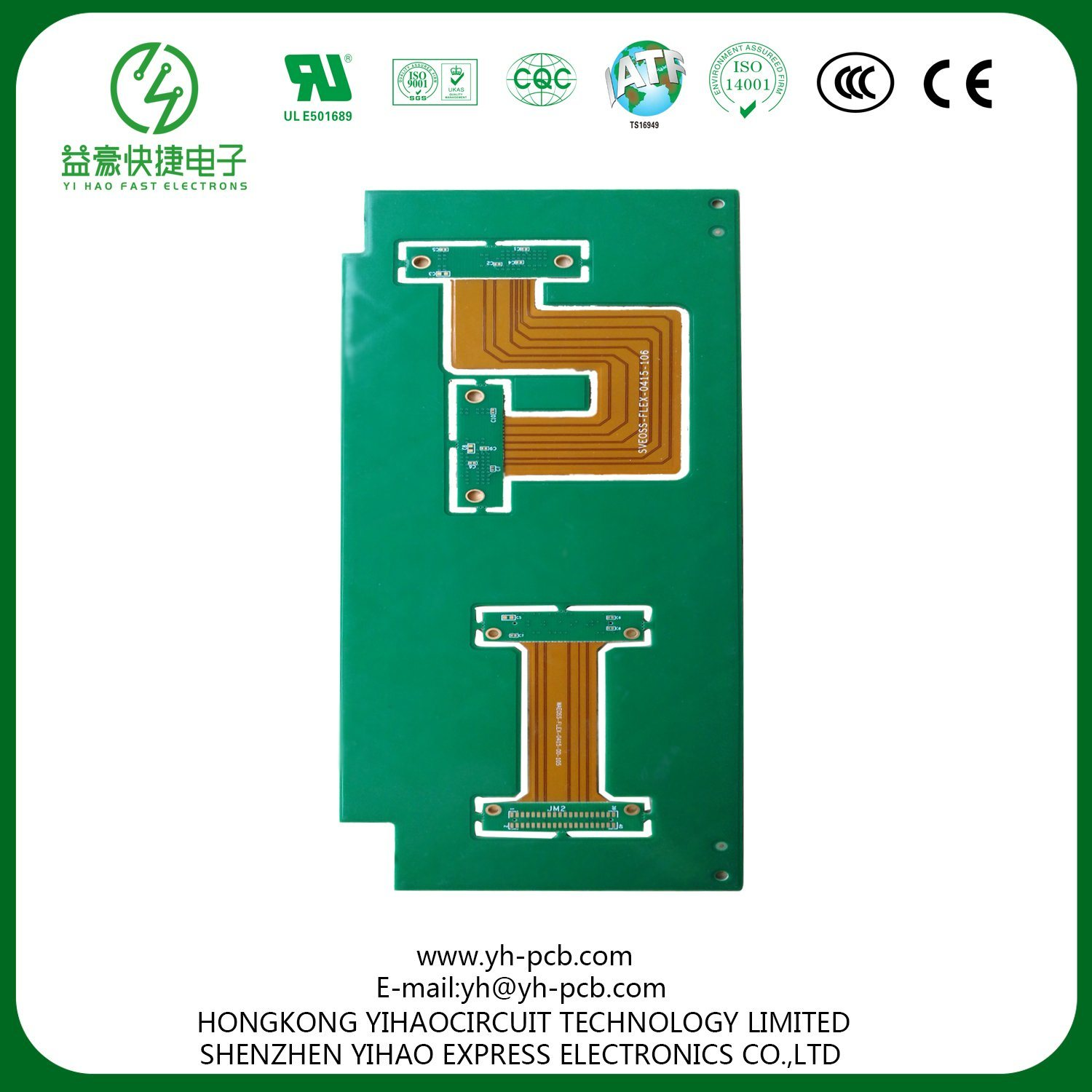 Rigid Flex Pcb Assy Source Layer 1 Oz Flexible Printed Circuit Board And Cover Film Supplier China For Automotive Medical Devices Manufacturer 1500x1500