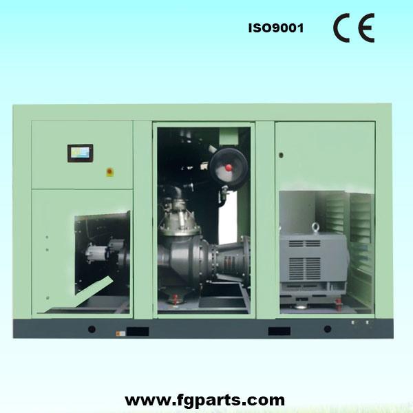 Air Dryer For Air Compressor >> Hot Item Portable Screw Air Compressor Combined With Air Dryer And Air Filter
