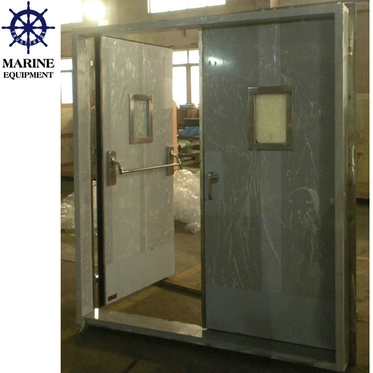 Marine A60 Gastight Watertight Double Leaf Stainless Steel Door