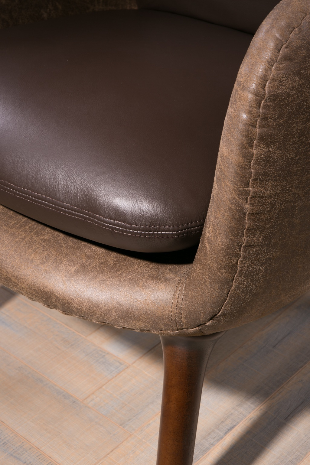 Amazing China High Density Sponge Brown Color Replica Ro Lounge Ncnpc Chair Design For Home Ncnpcorg