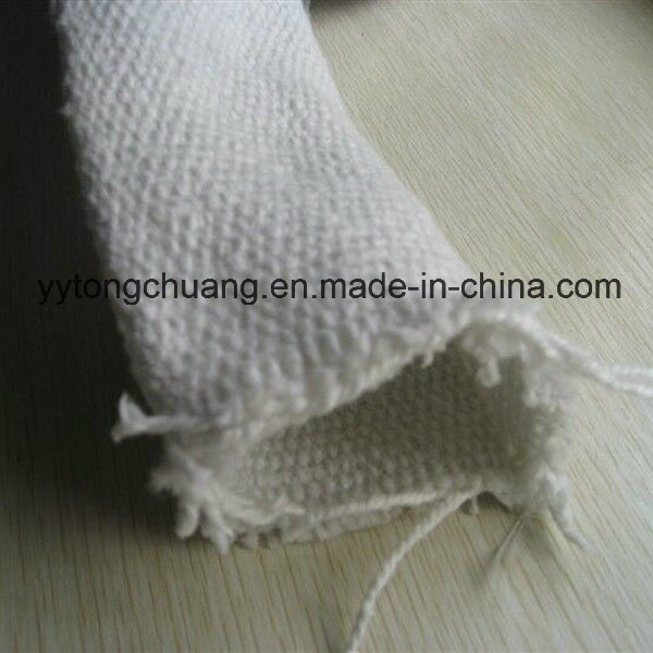 Ceramic Fiber Insulating Sleeve for Protecting Industrial Hydraulic Hoses