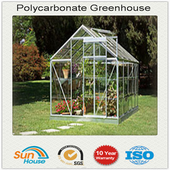 [Hot Item] Cheap DIY Small Polycarbonate Greenhouse