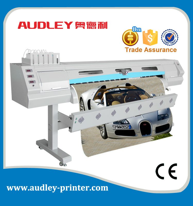 China audley digital ink jet car sticker printing machine s7000 7 with ce 1 9m china car sticker printing machine ink jet printing machine