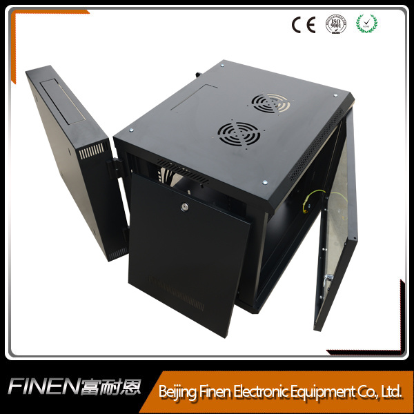 Metal Sheet Double Section Cabinet 9u Network Rack