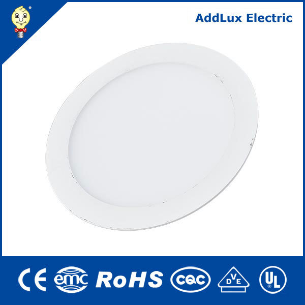 Round 18W Ultra Thin SMD Warm White LED Panel Light