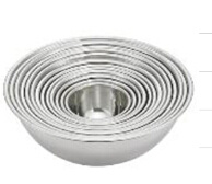 Stainless Steel Deep Mixing Bowl for Kitchen Use (16012)