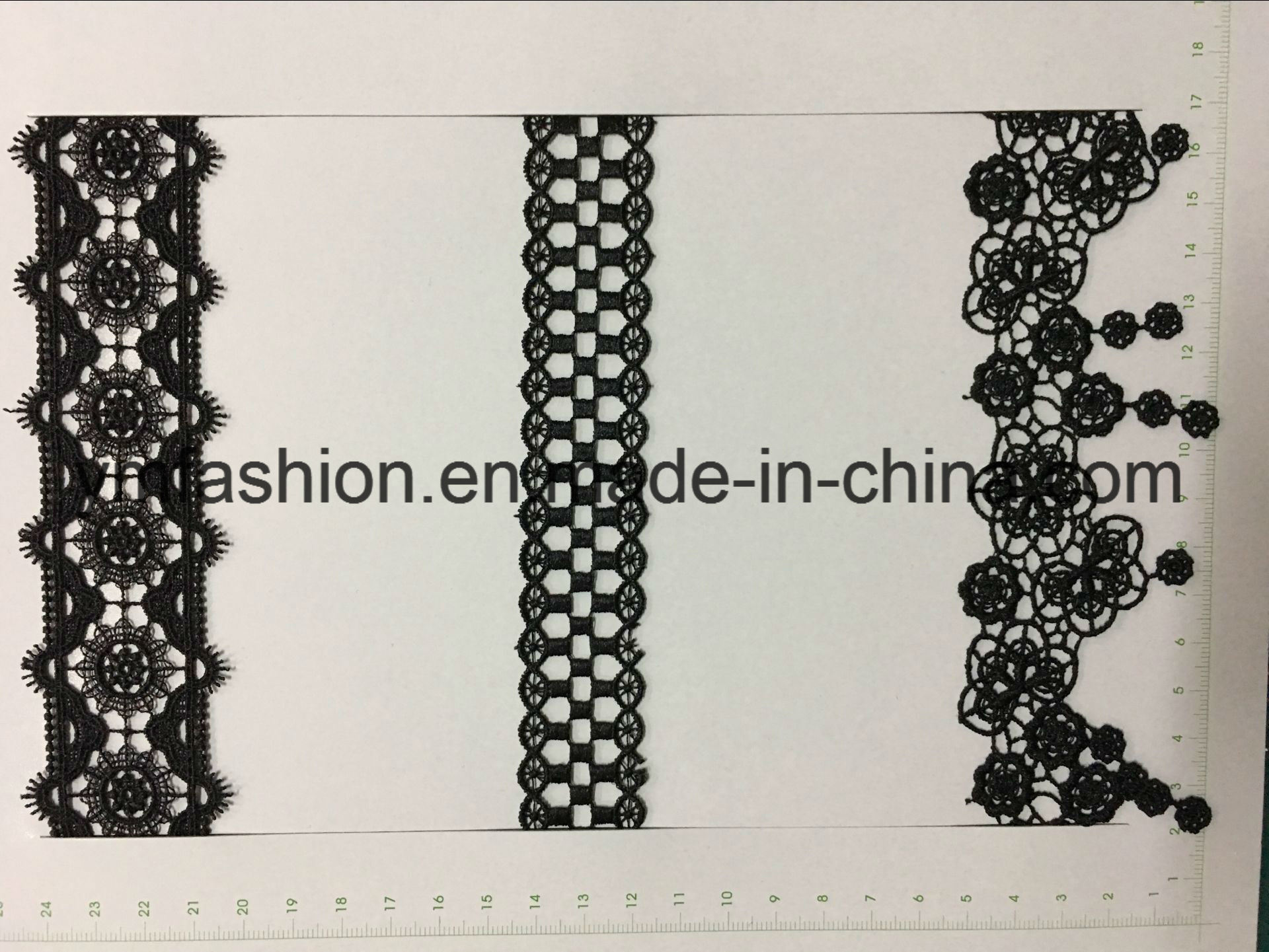 Embroidery Chemical Lace for Garment Accessory Ym-8