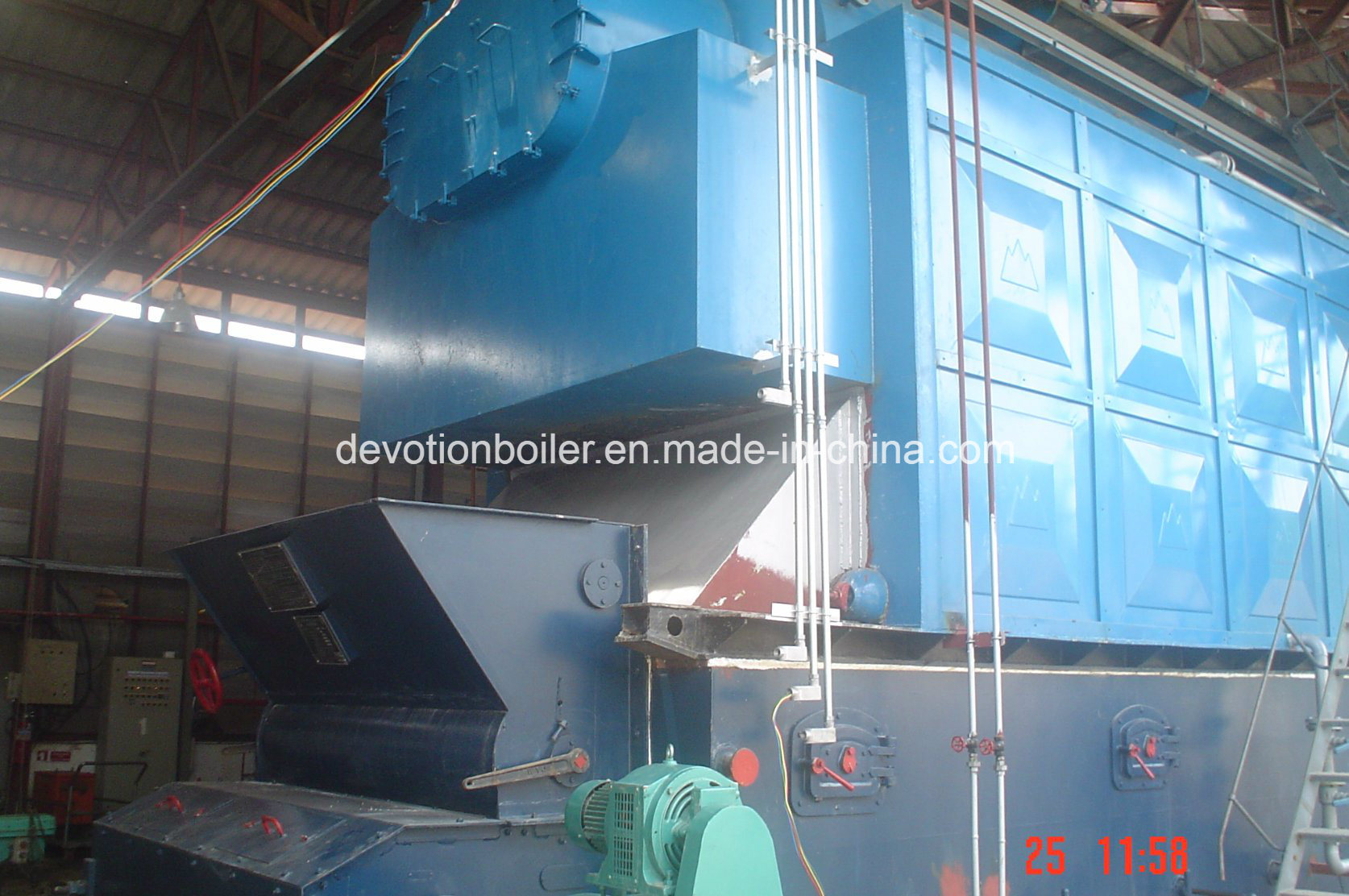 China Moving Grate 1-10 T/H Coal Fire Steam Boiler Photos & Pictures ...