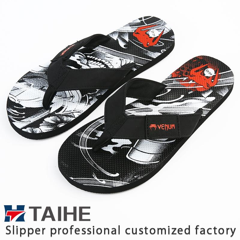 26aba33cf245 China Customize Wholesale EVA Women Summer Flip Flops Beach Rubber Slippers  - China Flip Flops
