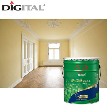 China White Emulsion Interior Wall Paint / Acrylic Latex Paint ...
