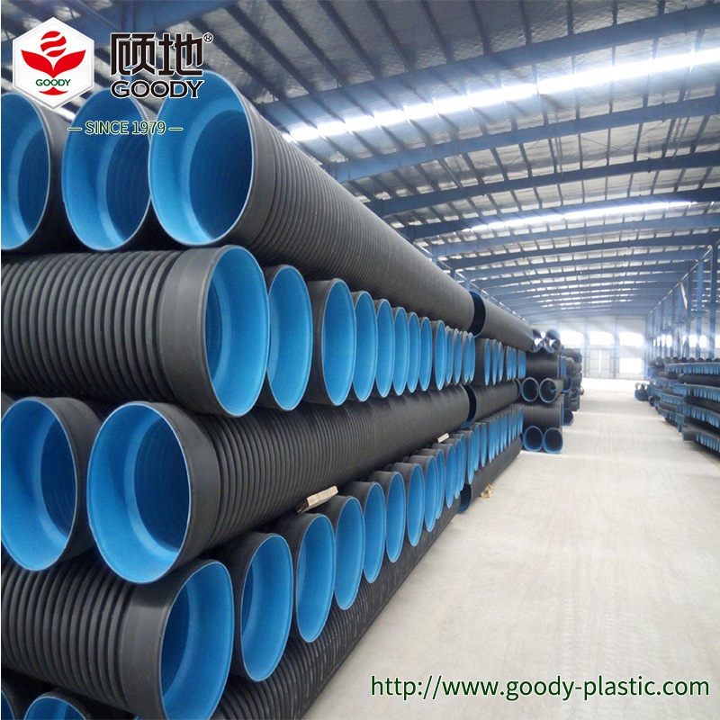 China HDPE Drain Pipe Concrete Culvert Pipe for Sale - China PE Pipe ...
