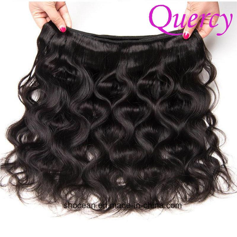 China Cheap Human Hair Weaving Double Sewn Weft Brazilian Hair Body