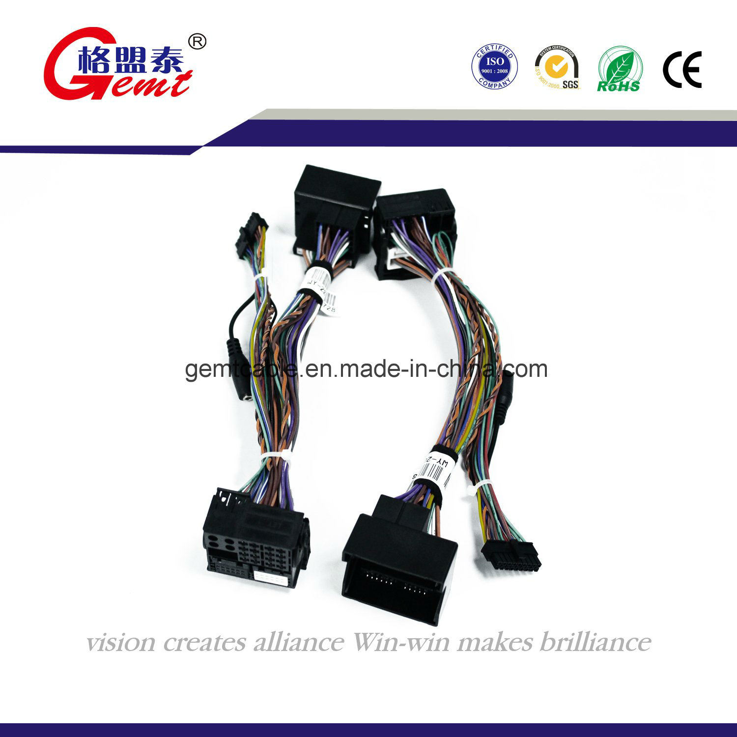 Automotive Audio Wiring Harness Schematic Diagrams China F505 Power Cord Auto Cable Wire Car Stereo