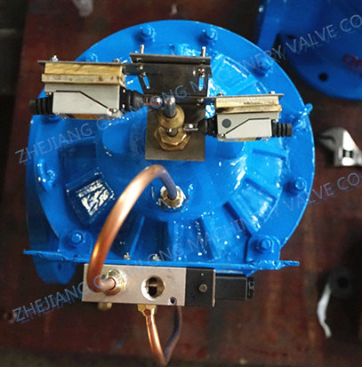Diaphragm Quick Open Sludge Discharge Suction Valve (JM744X) pictures & photos