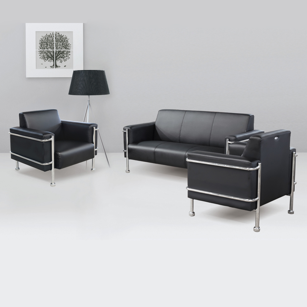 office sofa set. China Modern Modular Sofa Office Furniture Design Single Seat Leather Set - Sofa,