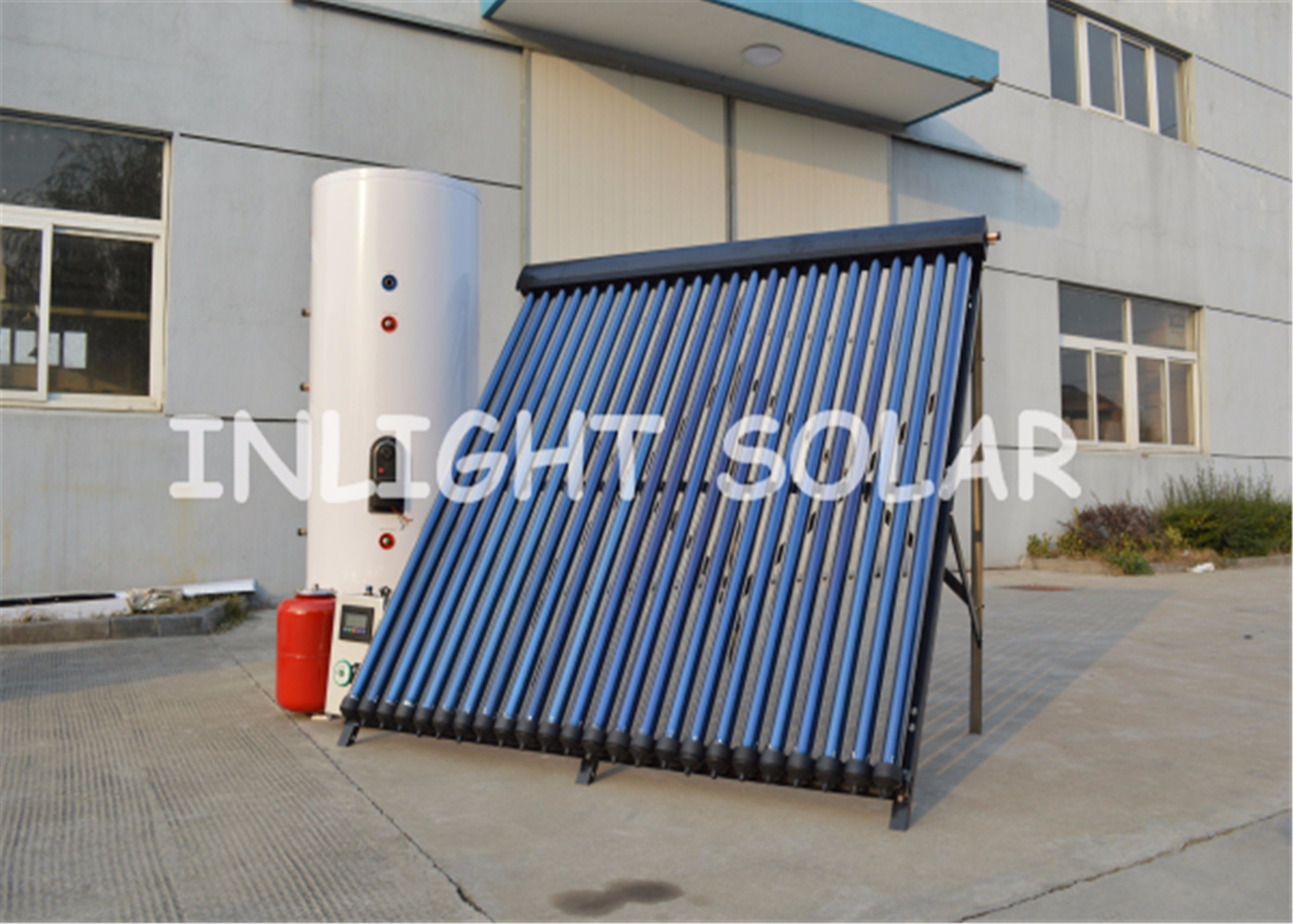 China Split Pressure Heat Pipe Solar Heating System for Heating ...