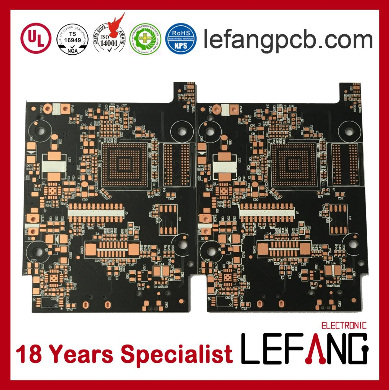 China Solder Mask Pcb Ink Manufacturers Custom Printed Circuit Board Fr4 4 Layer 1oz Copper From Suppliers