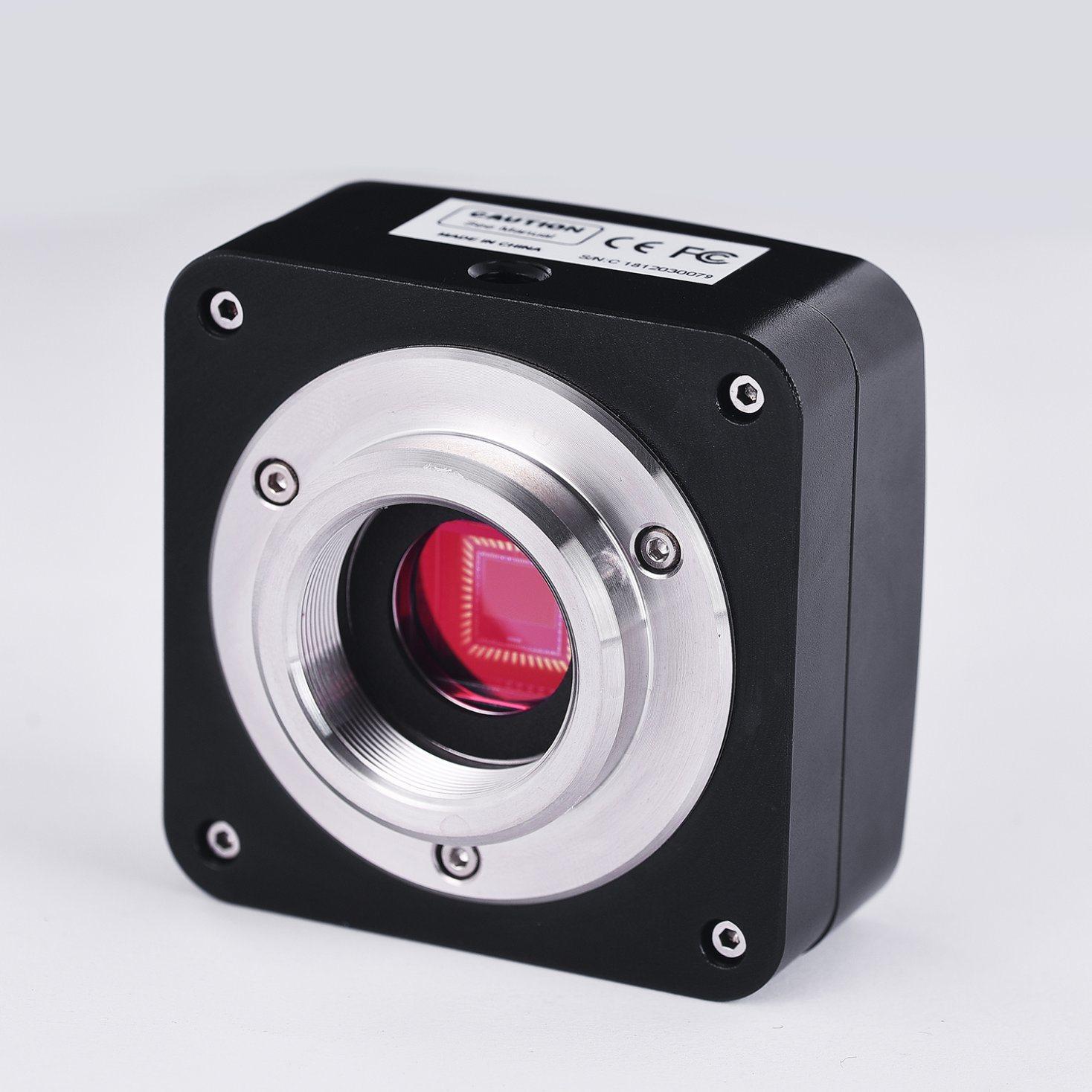 [Hot Item] 2 3MP E3CMOS Kmc Microscope Monochrome Global Shutter Camera