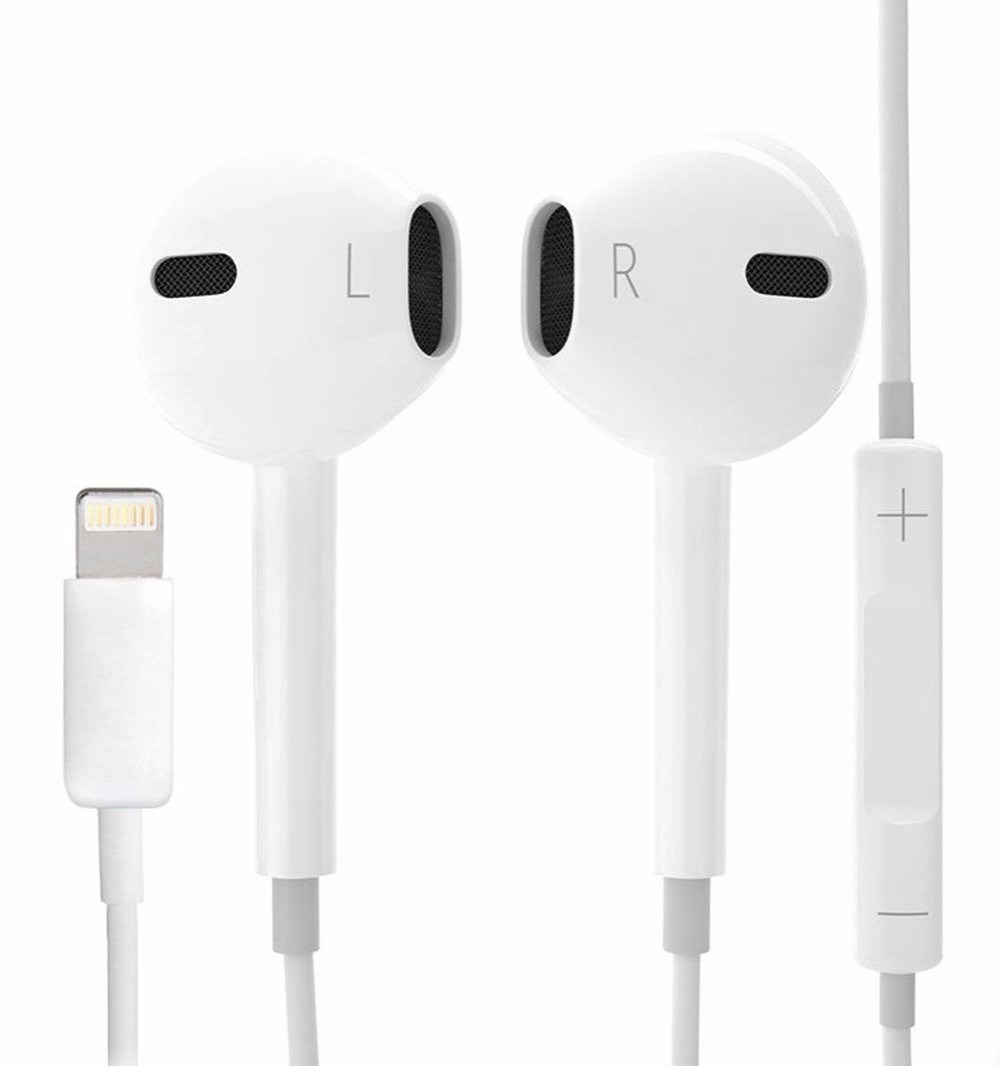 China Wired Headset Earbud 8pin Lightning Earphone For Iphone 7 Plus China Lightning Earphone And Lightning Earphone For Iphone 7 Price