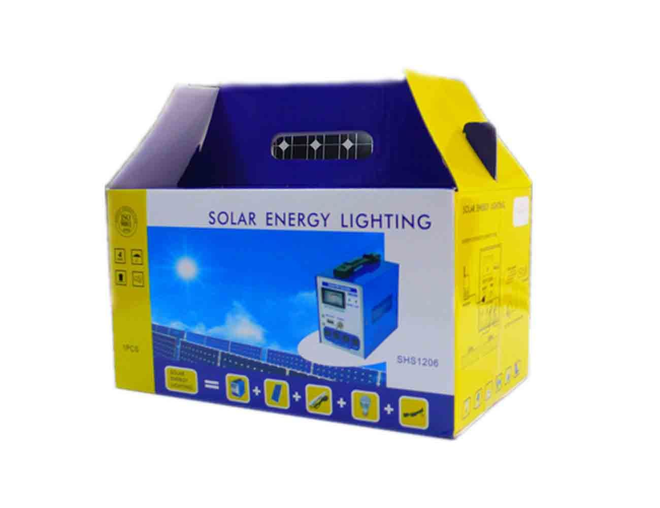 China 10w Small Solar Energy Power Home Lighting System With Fm Radio