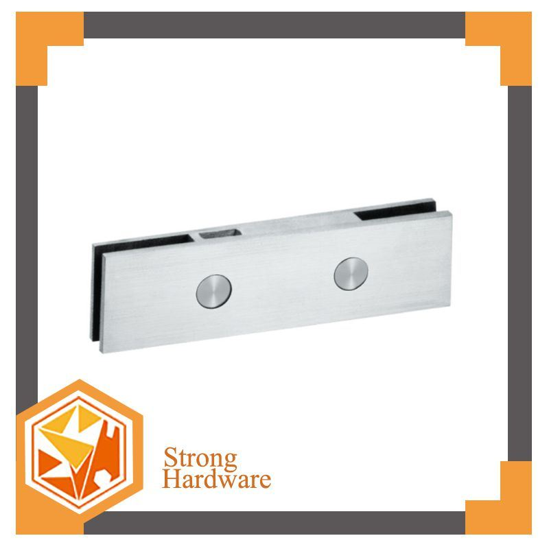 China Dorma Glass Door Hinge Stainless Steel Patch Fittings Price