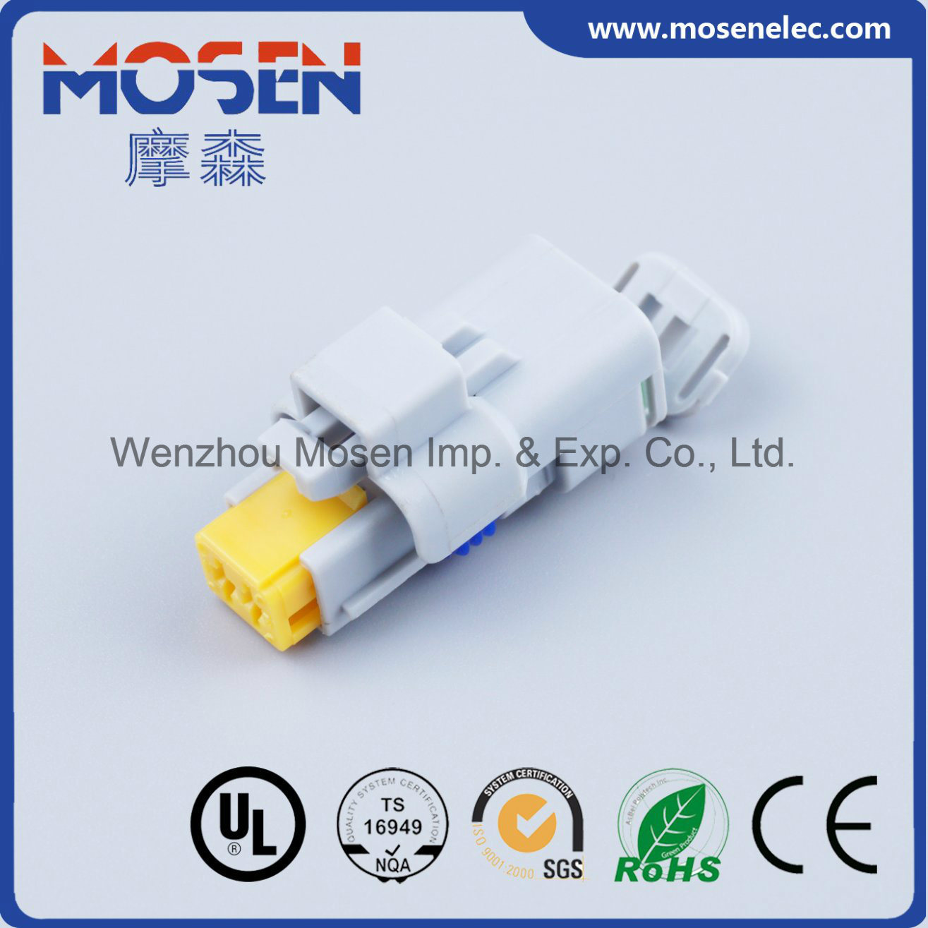 China Grey 2 Pin Pbt Female Electrical Auto Wiring Harness Cable Wire Plastic Connector 211pc022s8049 Fci Delphi