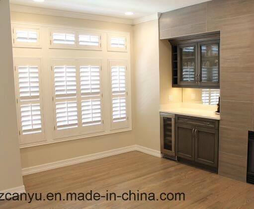 Canyu High Energy Rating Aluminum Alloy Hollow Shutter Blind Window pictures & photos