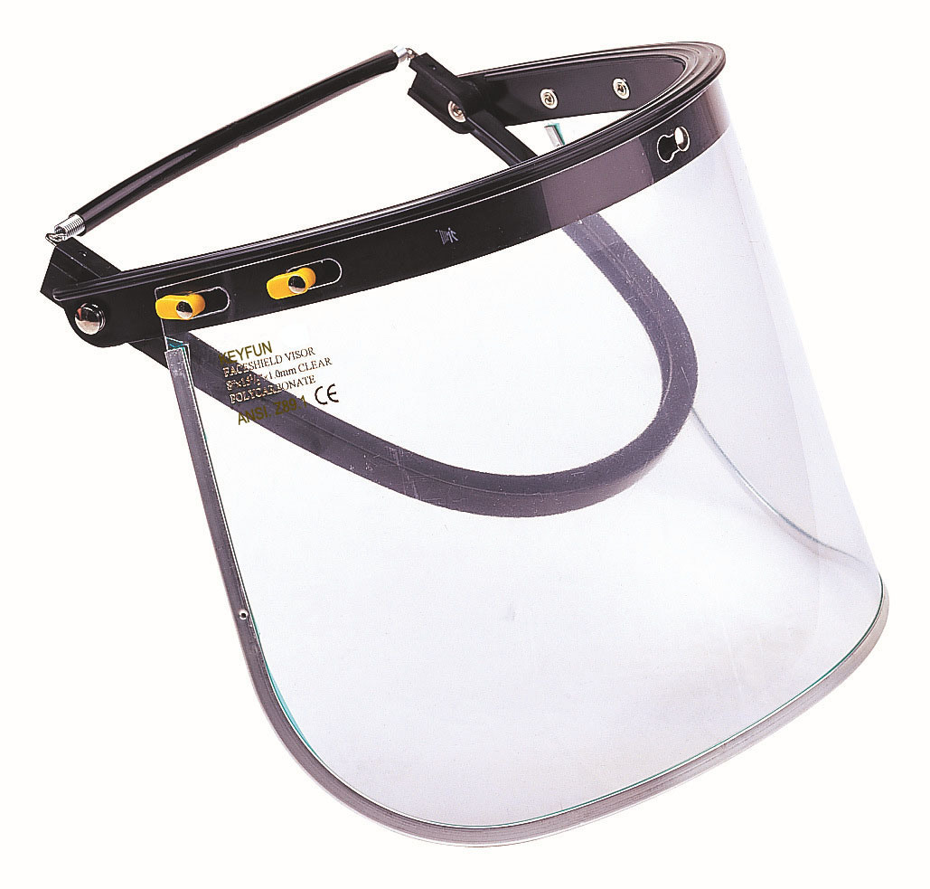 Safety Face Shield >> Hot Item Brimaster Hard Hat Safety Faceshield Visor Carrier Attachment