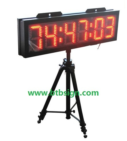 [Hot Item] 8′′ Large Character Outdoor LED Marathon Countdown Clock for  Sport Event LED Countdown Clock Timer