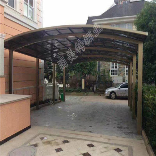 Aluminum Frame Polycarbonate Car Canopy Awning Shed Port Carport