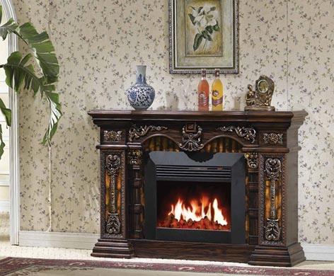 China Electric Fireplace European Style Fireplace 631 China