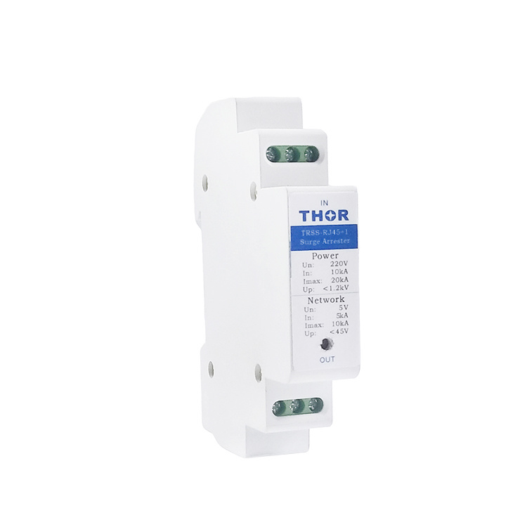 Ethernet Lightning Surge Arrester Power Surge Protection Device Signal SPD Protector pictures & photos