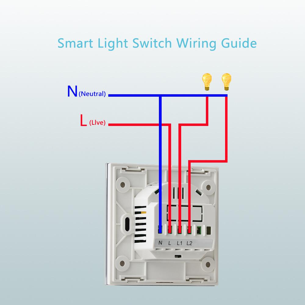 smart wifi wall light tact switch