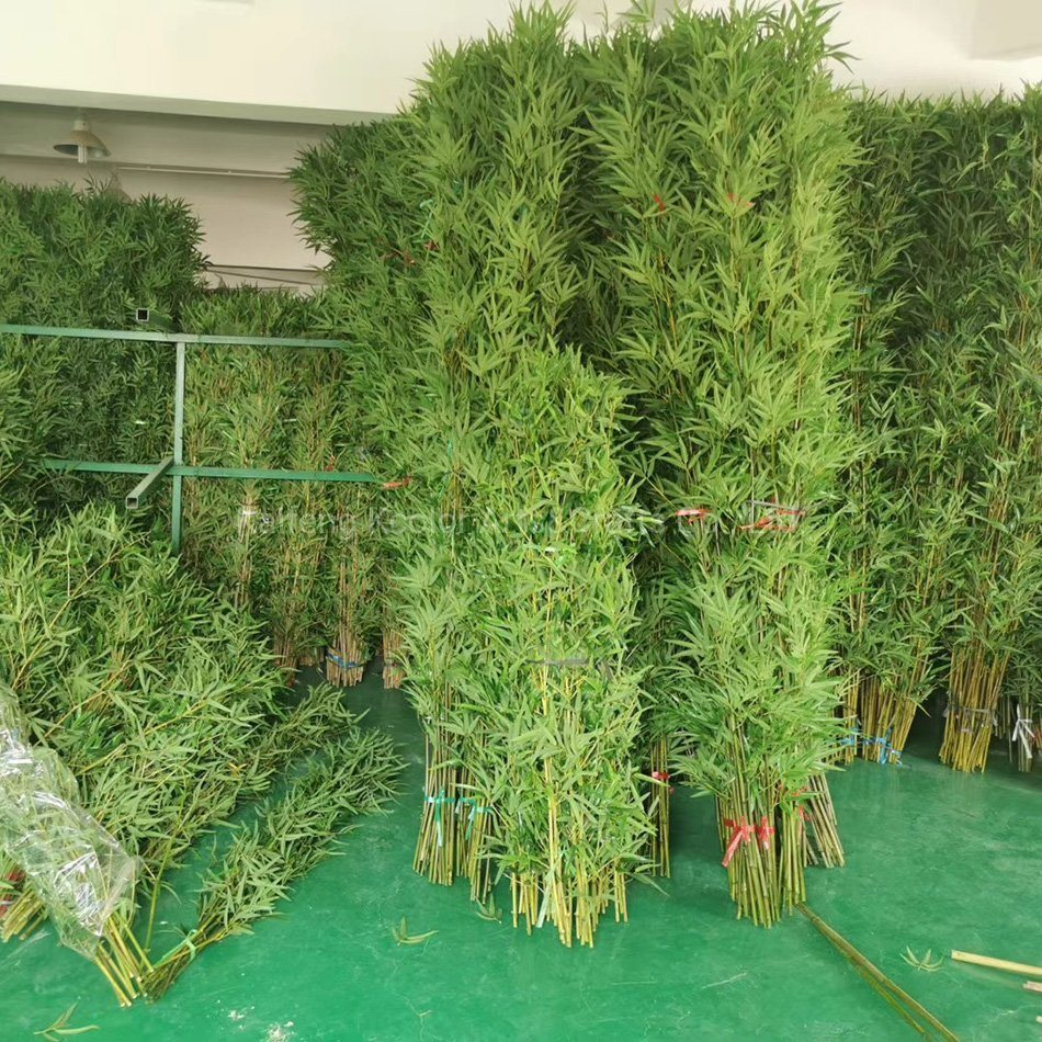 China High Qualtiy Artificial Bamboo Plastic Customized Artificail Bamboo Tree For Home Decoration China Artificial Bamboo Tree And Artificail Bamboo Price