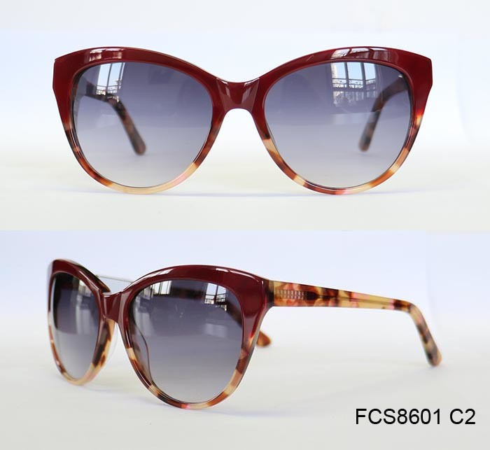 Promotion Gift Manufacturer Special Color Acetate Sunglasses Free Samples pictures & photos
