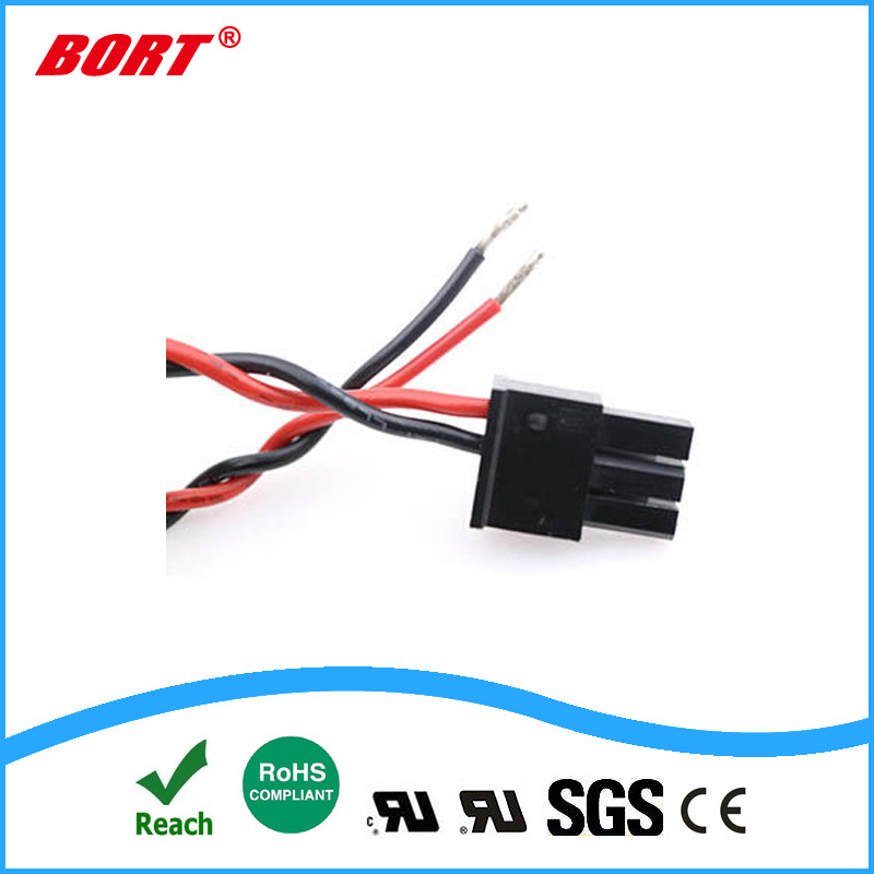 [hot item] 2pin electrical plug housing wire to wire crimp terminal connector wiring harness with molex electrical wiring harness electrical wire harness #8