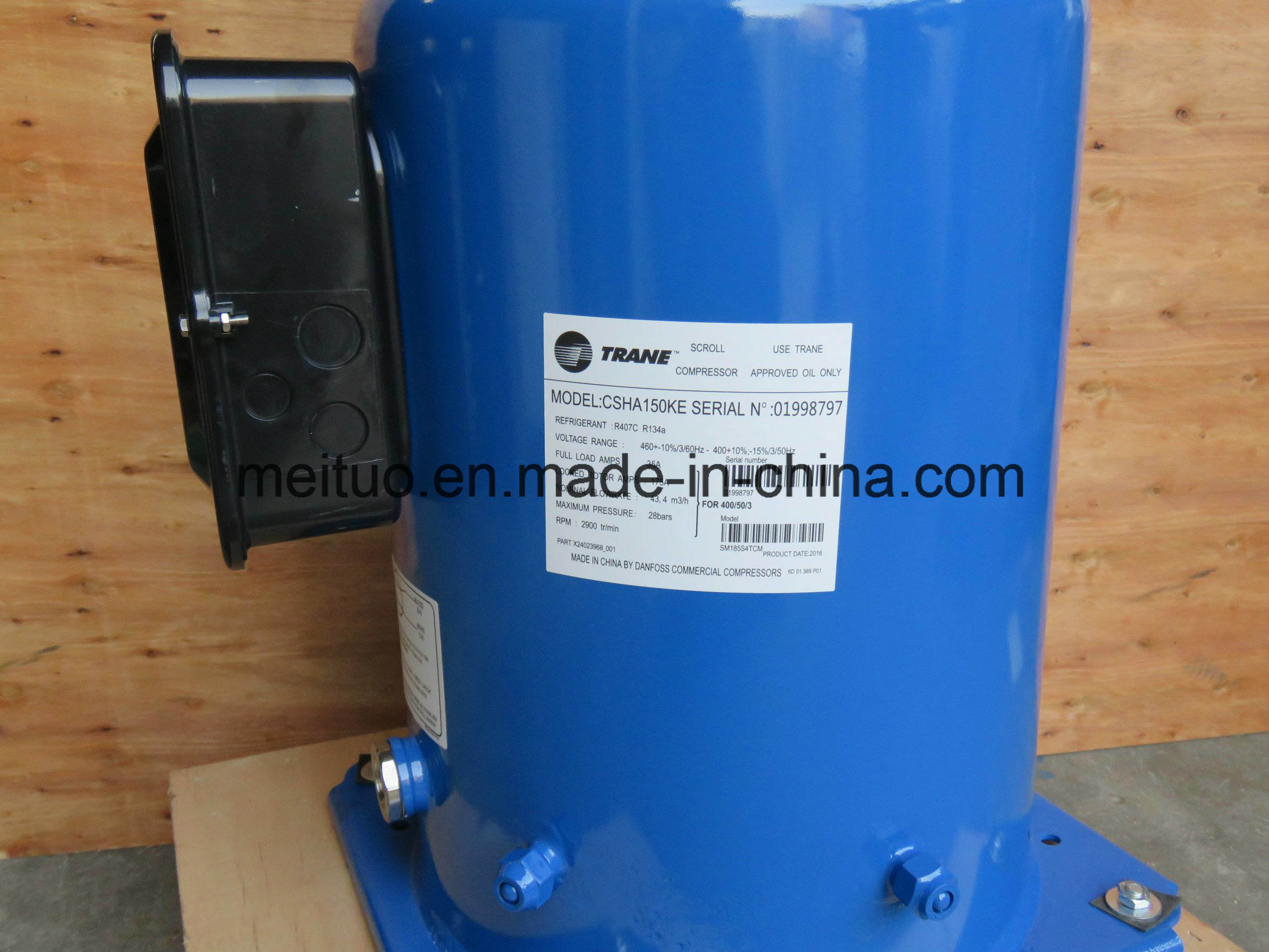 China Trane Hermetic Scroll Compressor Csha150ke Air Conditioning