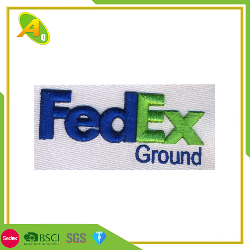 [Hot Item] High Quality Garment Accessories FedEx Express Gift Indian  Embroidery Letter Patch Clothing (018)