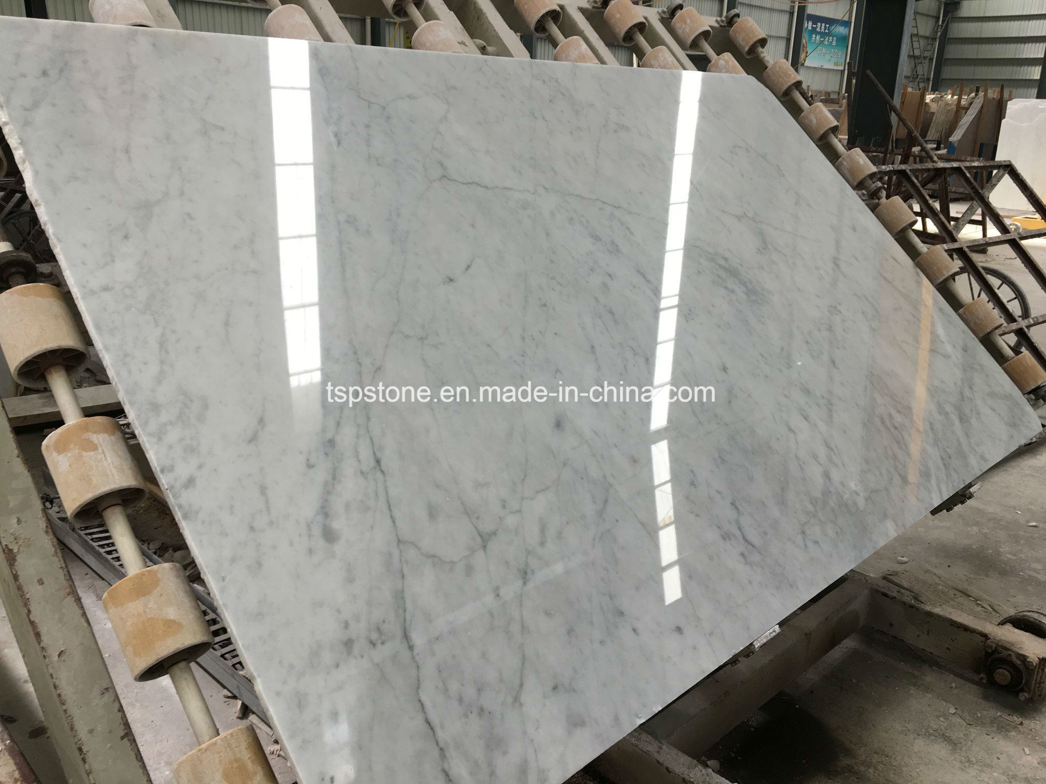 China Italian Bianco Carrara White Marble Slabs With Cheap Price Photos Pictures Made In China Com