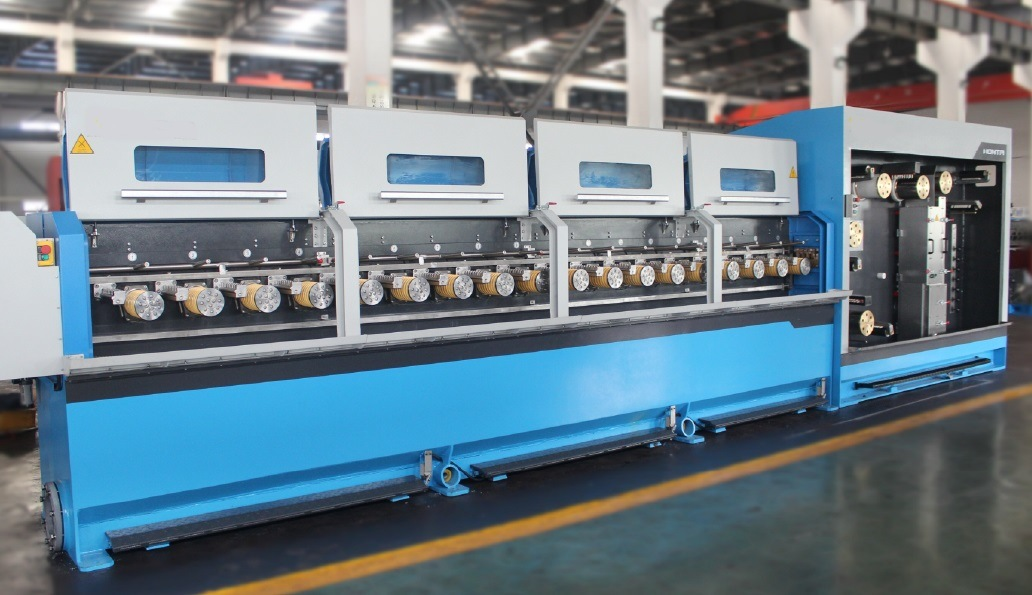 China Multi Wire Drawing Machine High Speed Electric Cable Making Equipment Electric Wire Making Manufacture Photos Pictures Made In China Com