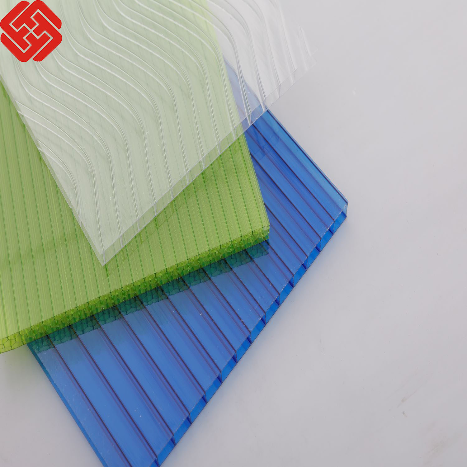 China High Light Transmission 5 Wall X Structure Hollow Polycarbonate Sheets Photos Pictures Made In China Com