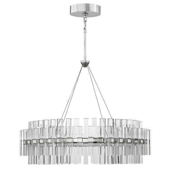 China Modern Crystal Chrome Chandeliers