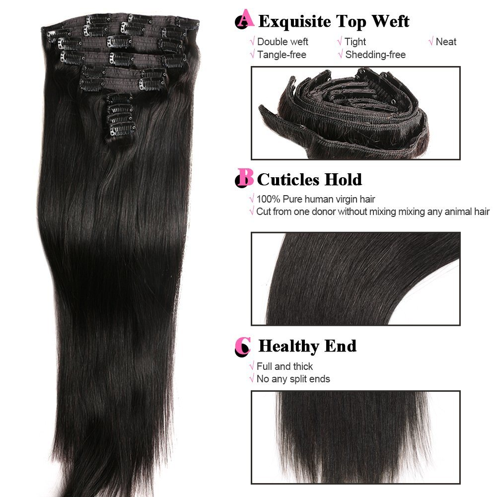 China Beauty Flip Hair Weft Extension Blond Color European Remy Fish