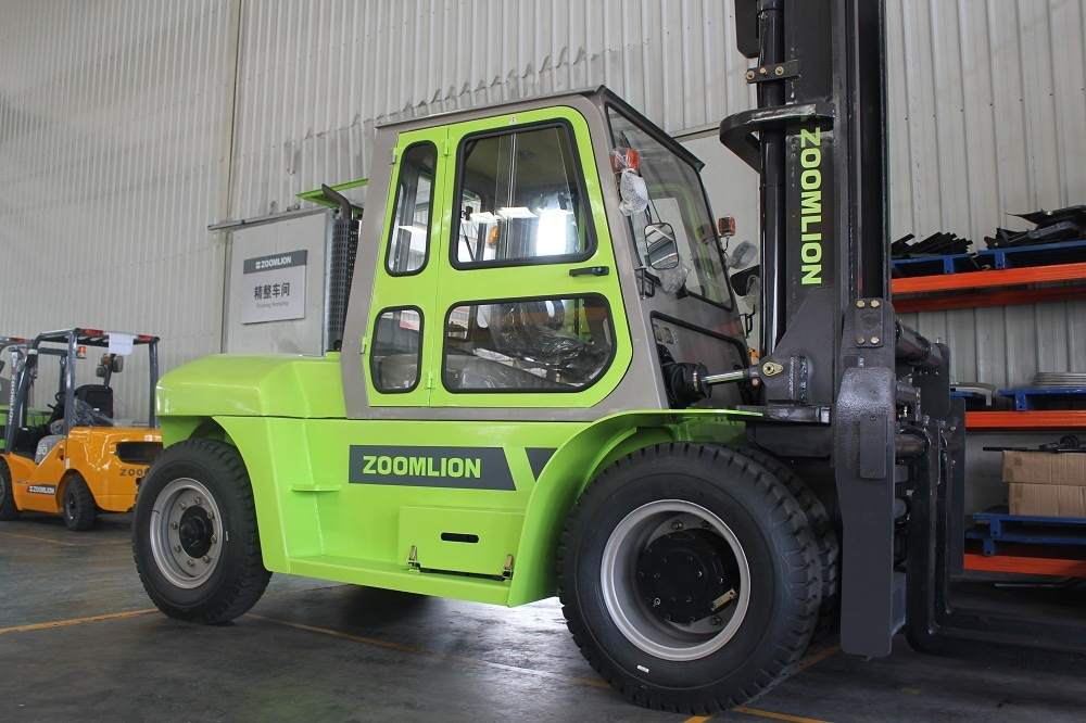 China Zoomlion Fork Lifter 10tonne Truck Forklift for Sale - China ...