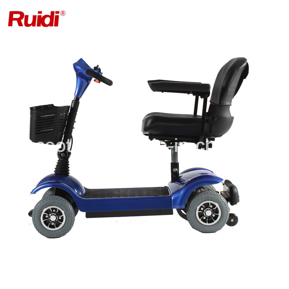 250W Three Wheel Electric Mobility Scooter Handicapped Scooter Ce Certificate