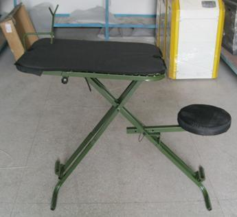 Incredible China Oem Portable Shooting Table Bench Seat With Adjustable Creativecarmelina Interior Chair Design Creativecarmelinacom