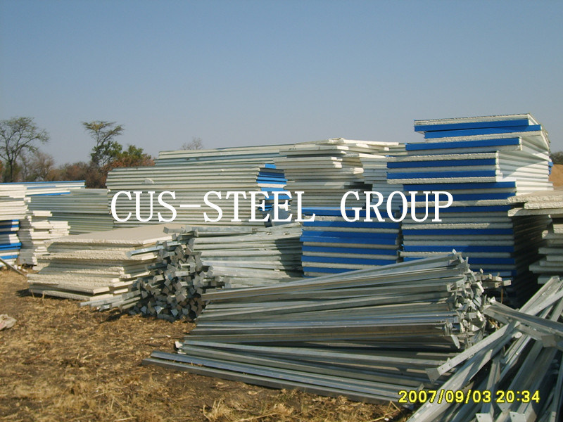 Prefabricated Light Steel Plant/Building Steel Structure